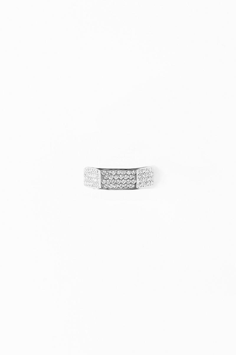 Off White Jewelry Collection Ring Silver