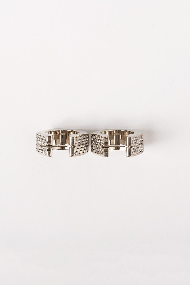 Off White Jewelry Collection Earrings Silver