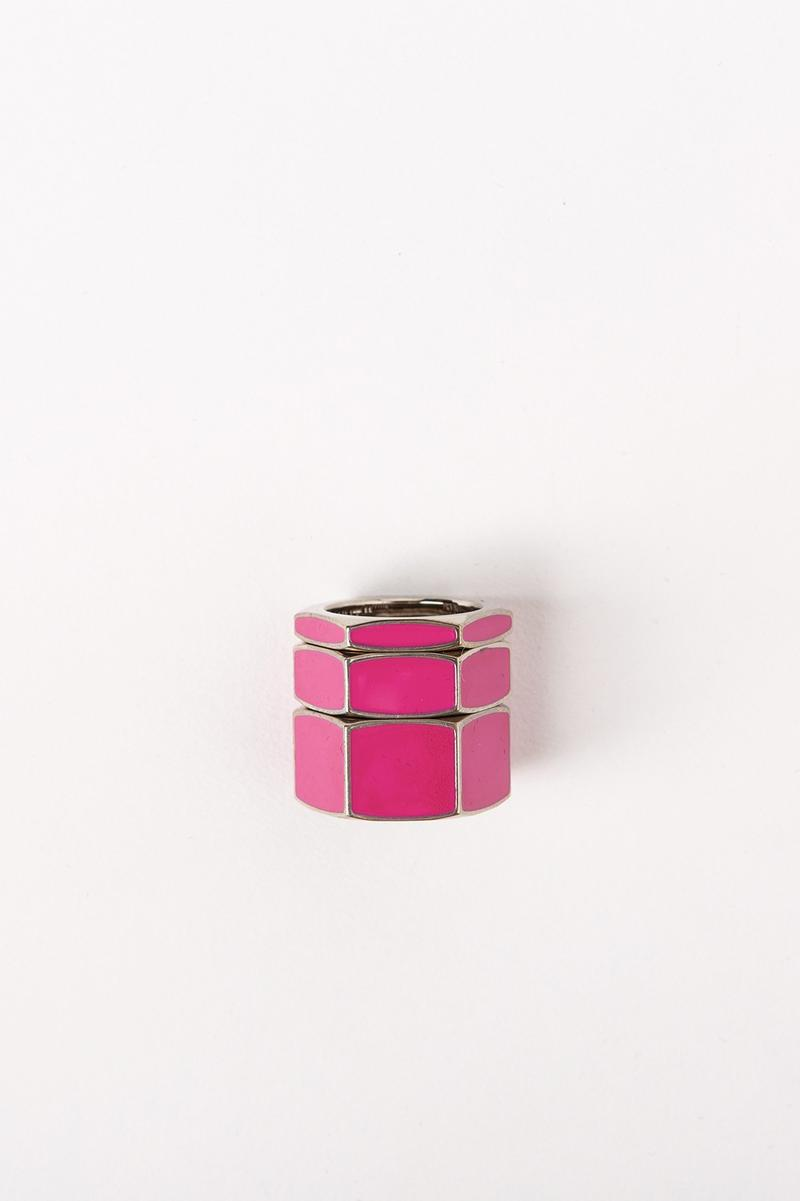 Off White Jewelry Collection Rings Pink Gold