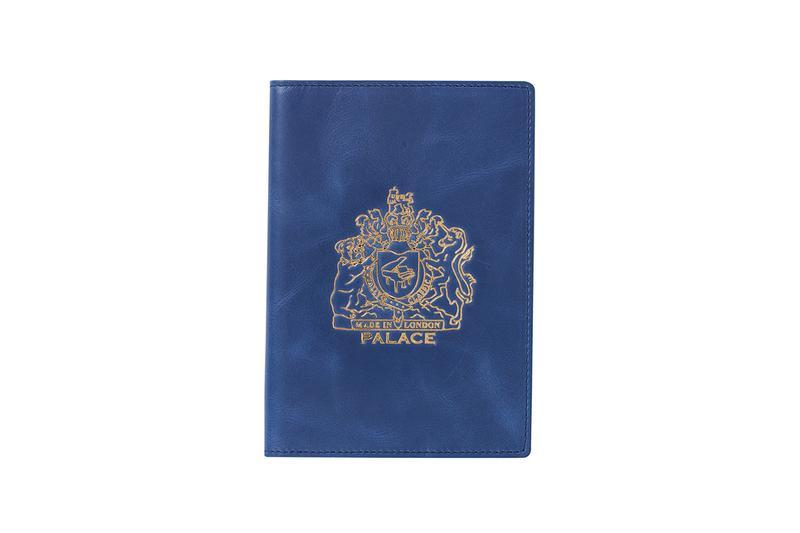 Palace Summer 2019 Collection Passport Holder Blue