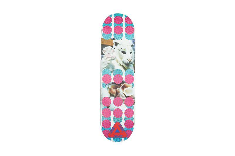 Palace Summer 2019 Collection Skate Deck Pink