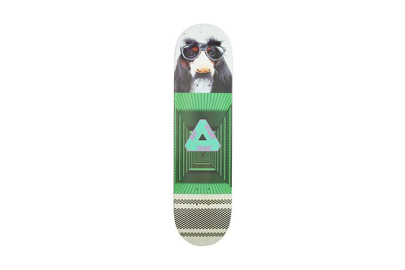 Palace Summer 2019 Collection Skate Deck Green Black