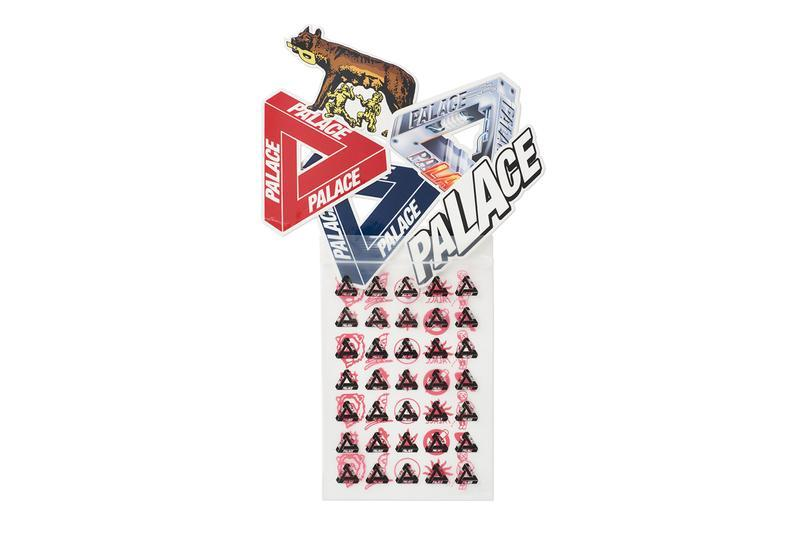Palace Summer 2019 Collection Stickers