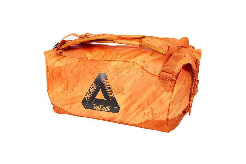 Palace Summer 2019 Collection Duffle Bag Orange