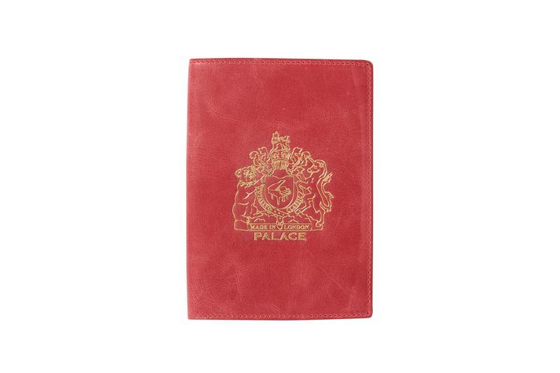 Palace Summer 2019 Collection Passport Holder Red