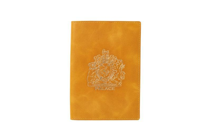 Palace Summer 2019 Collection Passport Holder Yellow