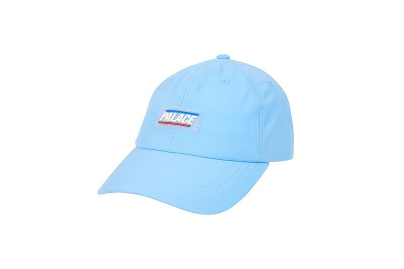 Palace Summer 2019 Collection Logo Hat Blue