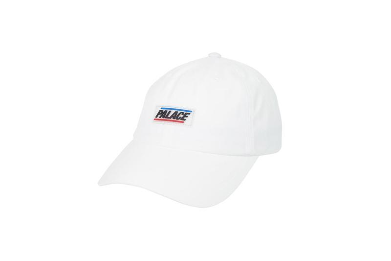 Palace Summer 2019 Collection Logo Hat White