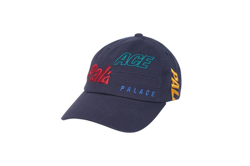 Palace Summer 2019 Collection Patches Hat Blue