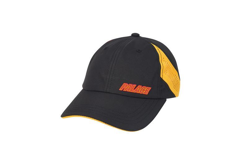 Palace Summer 2019 Collection Hat Black Orange