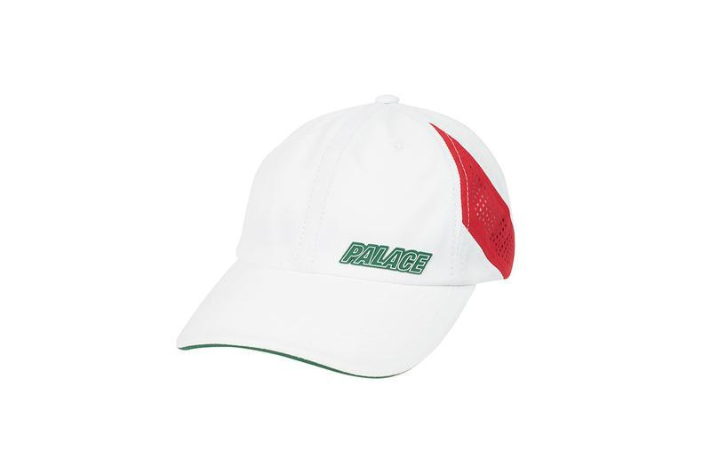 Palace Summer 2019 Collection Hat White Red