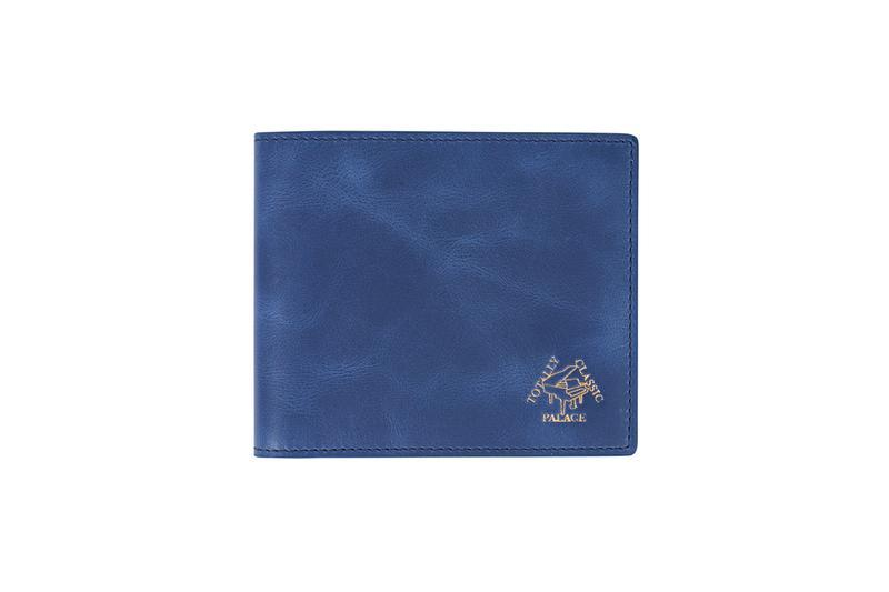 Palace Summer 2019 Collection Wallet Blue