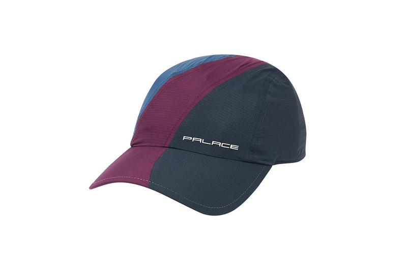 Palace Summer 2019 Collection Hat Black Maroon
