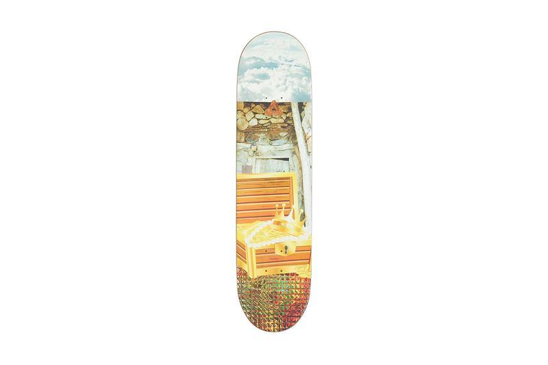 Palace Summer 2019 Collection Skate Deck Orange White