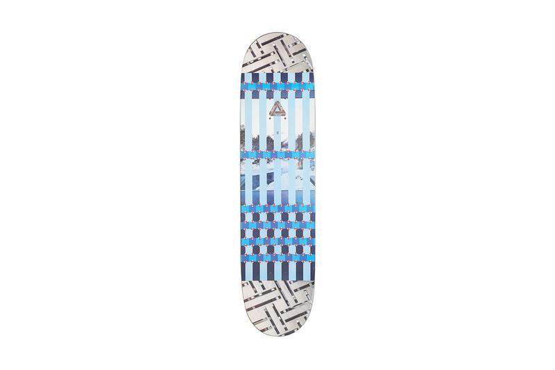 Palace Summer 2019 Collection Skate Deck Grey Blue