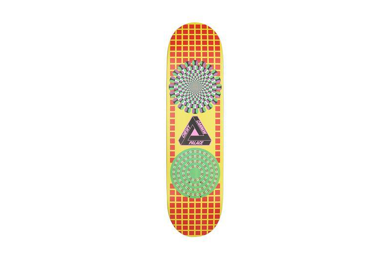 Palace Summer 2019 Collection Skate Deck Orange Green