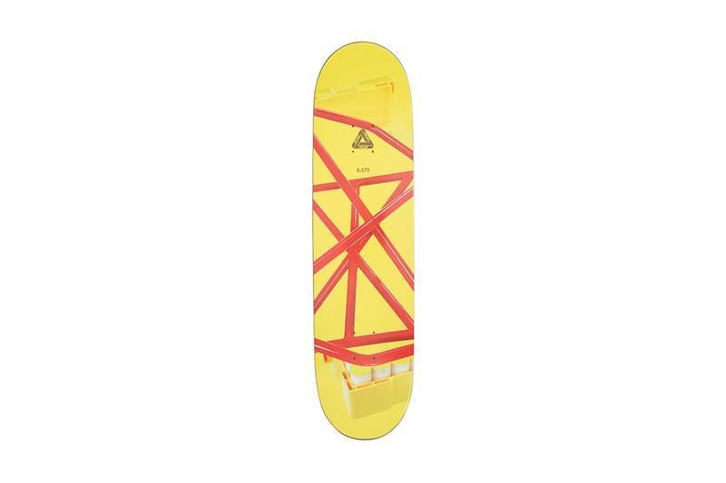 Palace Summer 2019 Collection Skate Deck Yellow Red