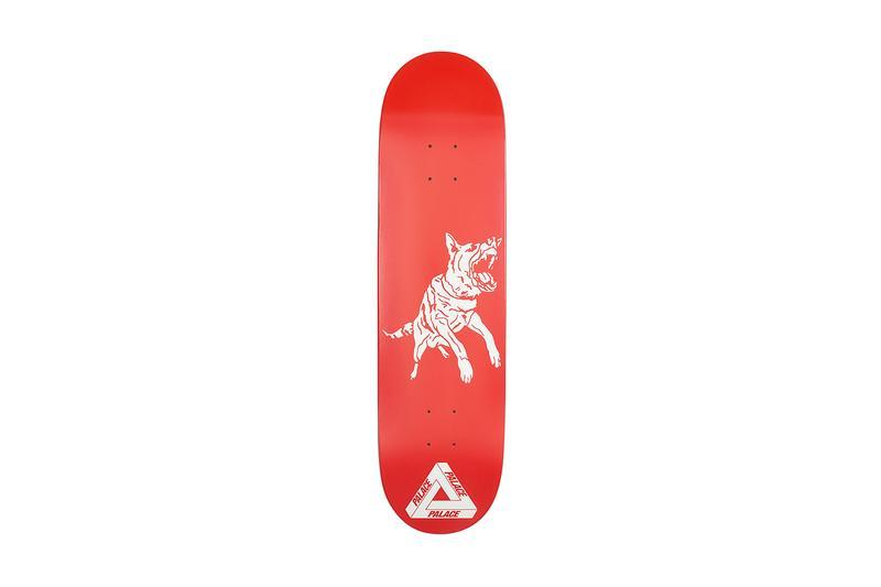 Palace Summer 2019 Collection Skate Deck Red