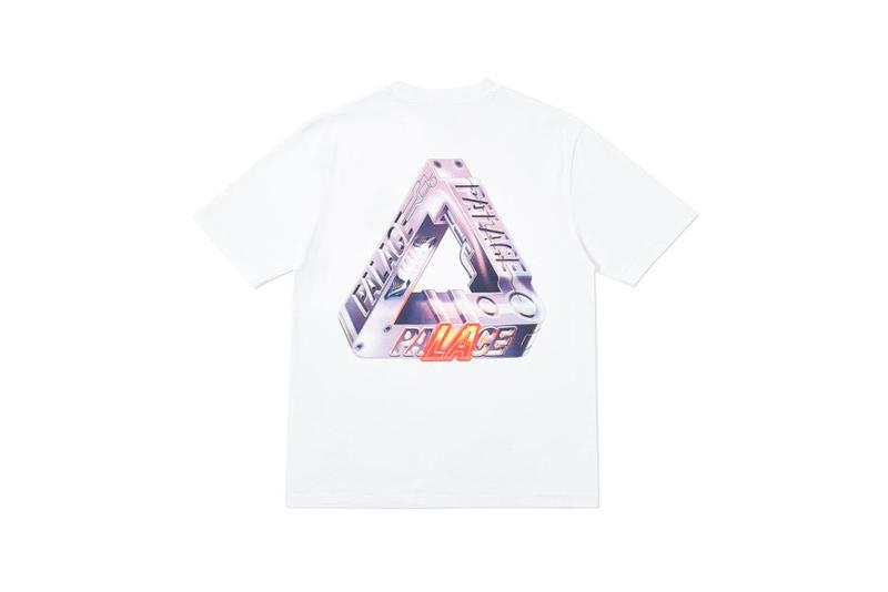 Palace Los Angeles LA Capsule Collection T Shirt White