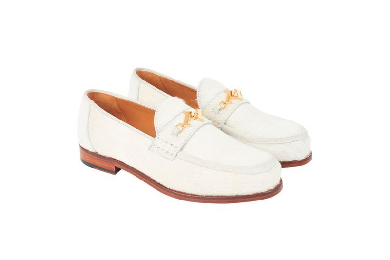 Palace Los Angeles LA Capsule Collection Loafers White
