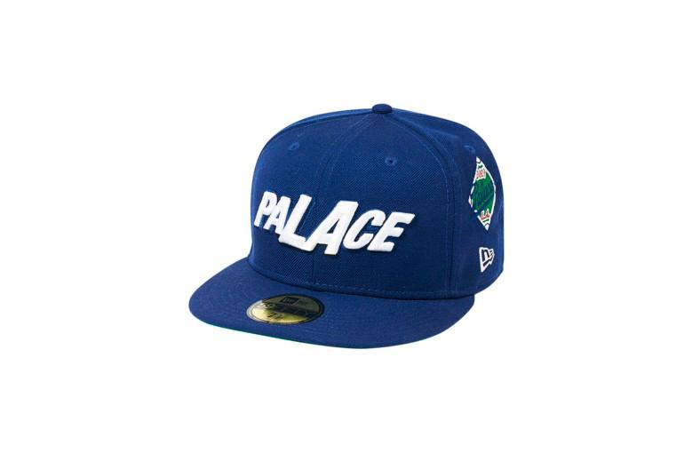Palace Los Angeles LA Capsule Collection Hat Blue