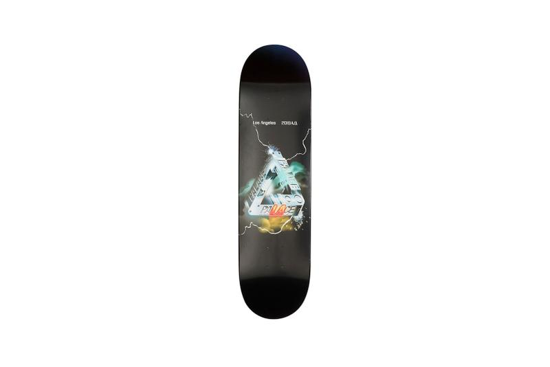 Palace Los Angeles LA Capsule Collection Skate Deck Black