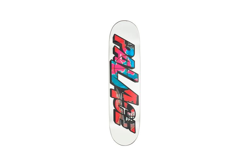 Palace Los Angeles LA Capsule Collection Skate Deck White