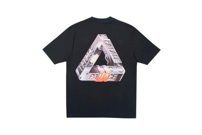 Palace Los Angeles LA Capsule Collection T Shirt Black