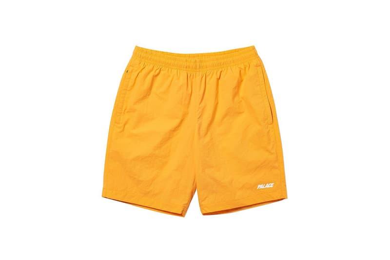 Palace Spring 2019 Shorts Yellow
