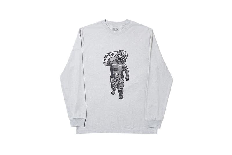 Palace Spring 2019 Long Sleeve Shirt Grey