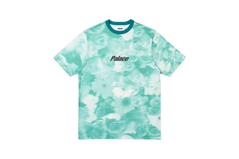 Palace Spring 2019 Floral Shirt Blue
