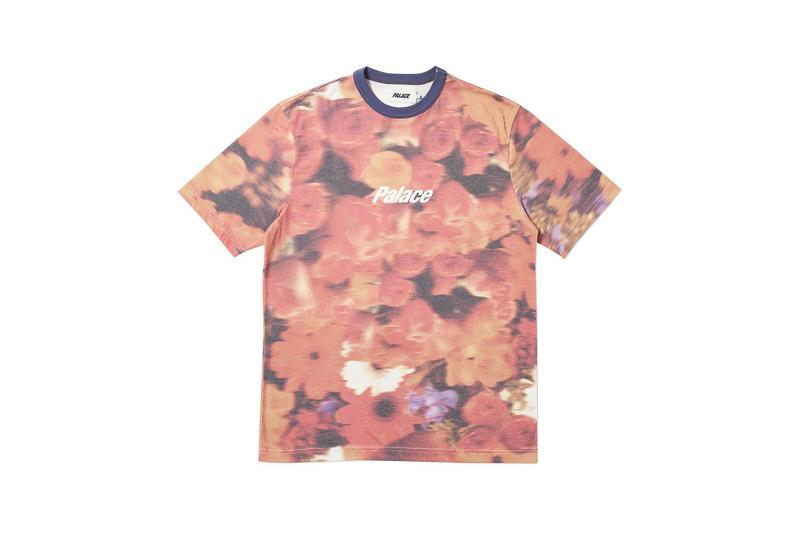 Palace Spring 2019 Floral Shirt Orange Red