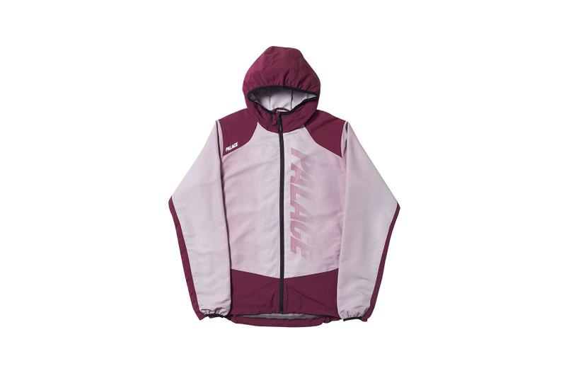 Palace Spring 2019 Jacket Maroon Grey