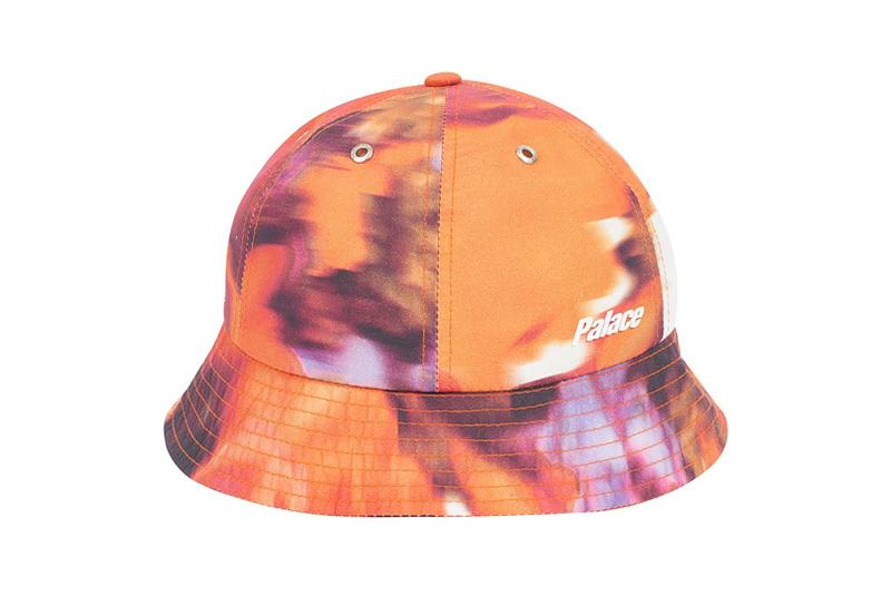 Palace Spring 2019 Bucket Hat Orange Purple