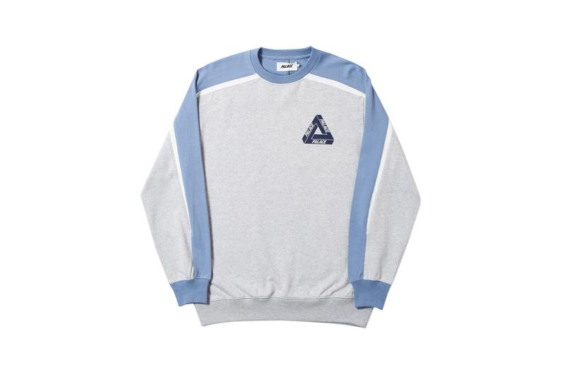 Palace Spring 2019 Sweatshirt Grey