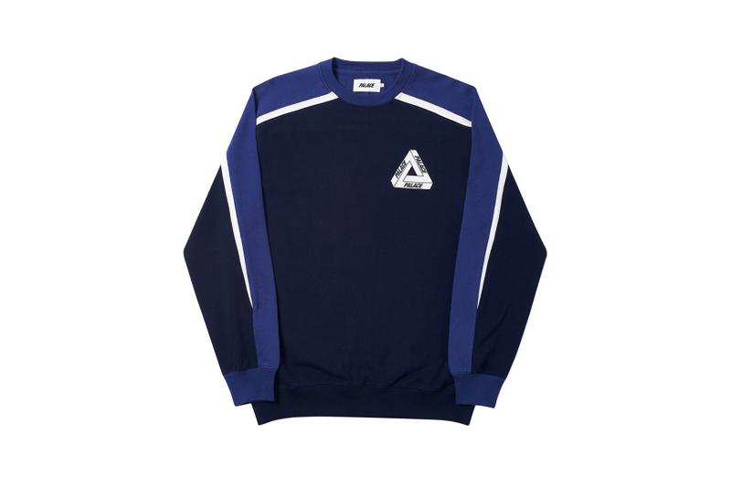 Palace Spring 2019 Sweatshirt Blue