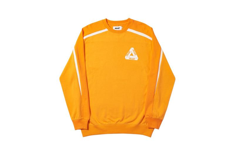 Palace Spring 2019 Sweatshirt Yellow