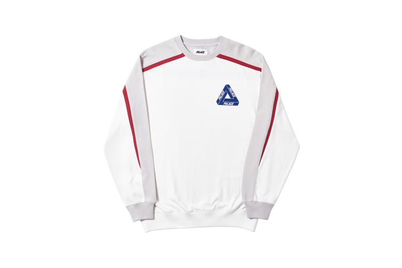 Palace Spring 2019 Sweatshirt White