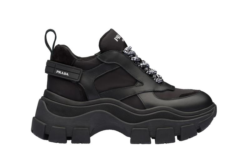 Prada Platform Sneaker Black
