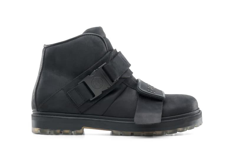 Rick Owens Rotterhiker Boots Black