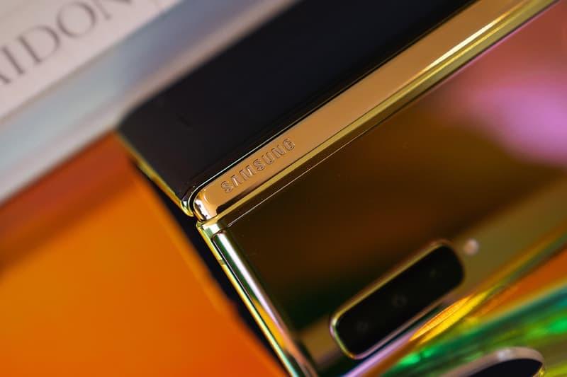 Samsung Galaxy Fold Cosmos Black Gold