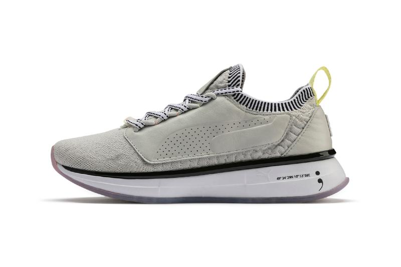 Selena Gomez x PUMA Spring Summer 2019 Collection SG Runner Strength Training Shoes Glacier Grey White