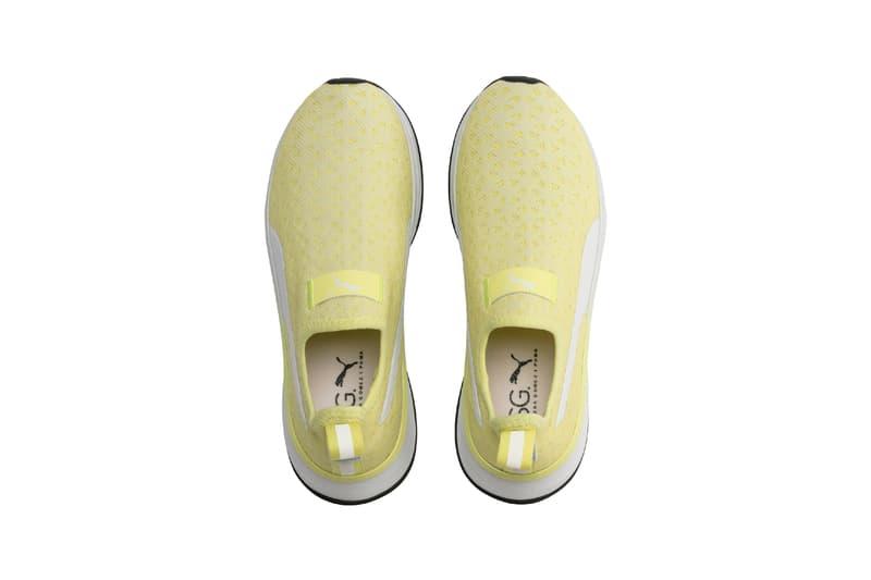Selena Gomez x PUMA Spring Summer 2019 Collection SG Bright Slip-On Yellow White