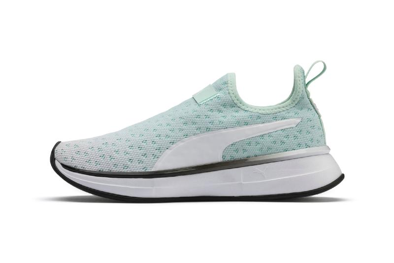 Selena Gomez x PUMA Spring Summer 2019 Collection SG Bright Fade Slip-On Fair Aqua Black