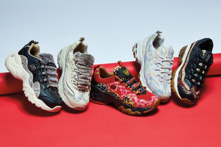 b2ae0ad7c1def Skechers  Chunky Sneakers Get a High Fashion Update for Summer 2019