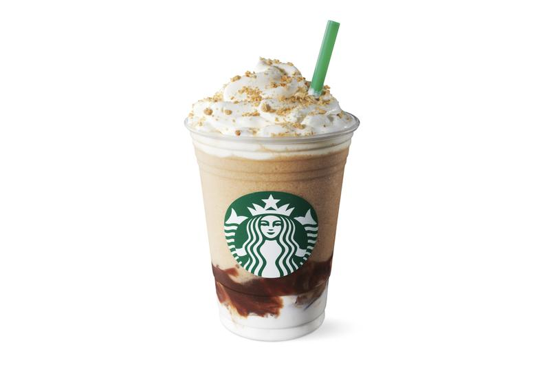 Starbucks S'mores Frappuccino Summer Drink Release Chocolate Marshmallow Graham Crackers Sweet