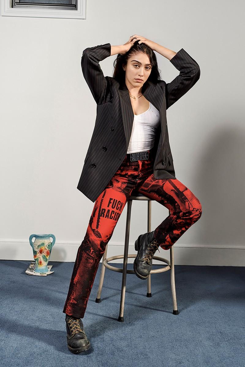 Jean Paul Gaultier x Supreme Collaboration SS19 Spring Summer Lourdes Leon Range Lookbook Collection Pieces Drop Release