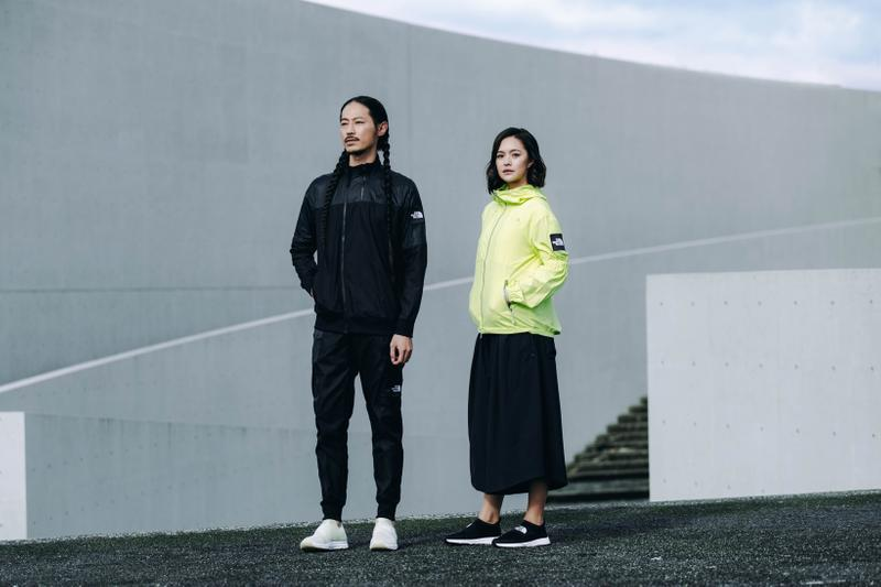 The North Face Airflow Spring Summer 2019 Collection Jacket Green Skirt Pants Black
