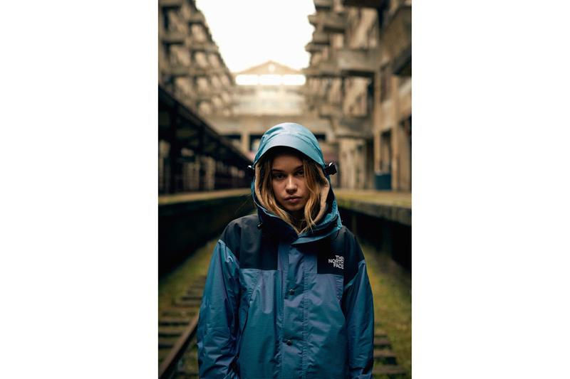 The North Face Iridescent Collection Jacket Blue Black
