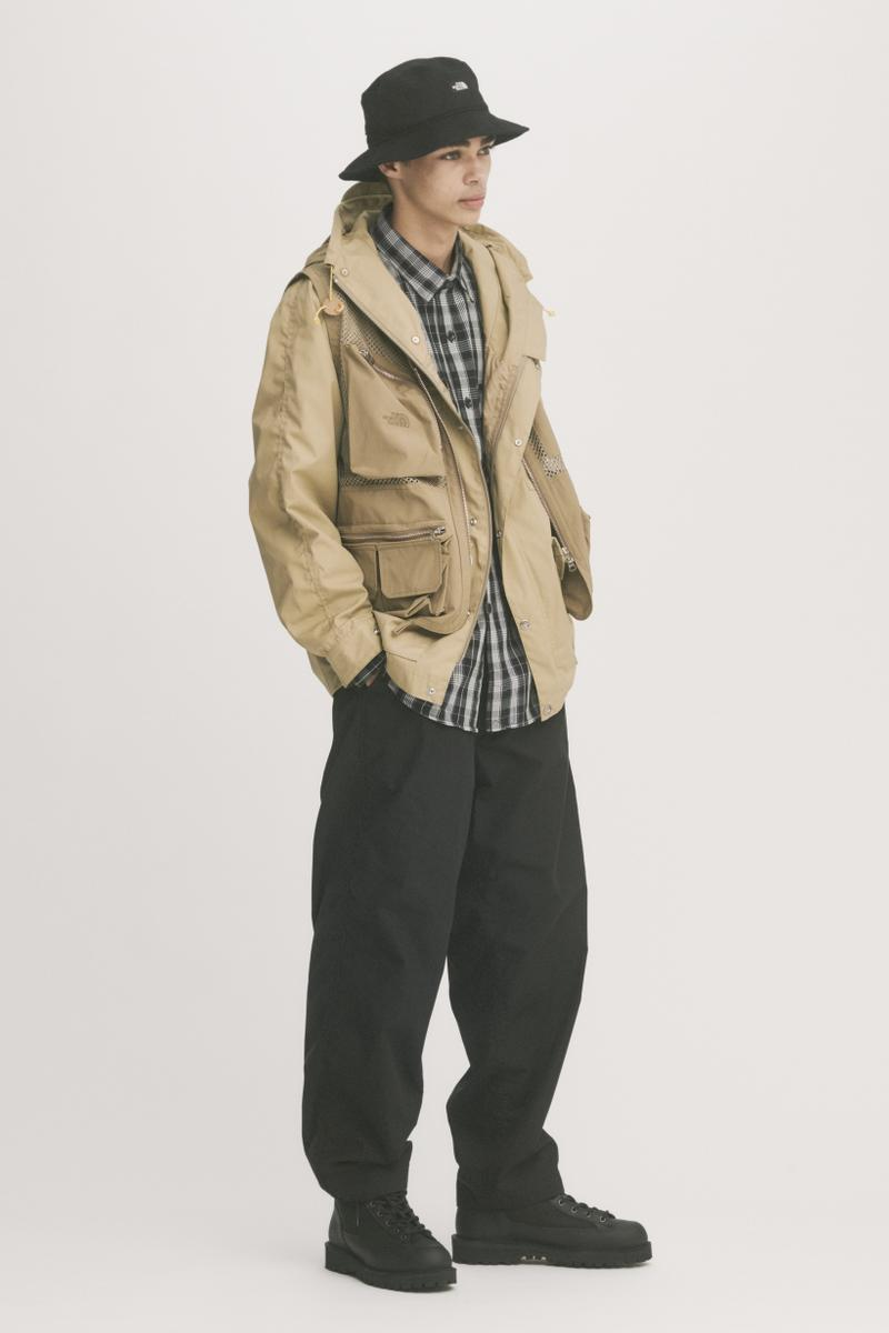 THE NORTH FACE PURPLE LABEL Spring Summer 2019 Lookbook Jacket Tan Pants Black